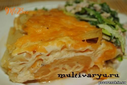 Картофель дофин в мультиварке рецепты 5